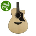 Yamaha AC1M Concert Acoustic Electric with Cutaway - Natural, Mahogany Back and SidesAC1M Concert Acoustic Electric with Cutaway - Natural, Mahogany Back and Sides