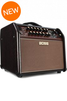 Boss Acoustic Singer Live 60-watt Bi-amp Acoustic Combo with FX