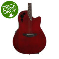Ovation Applause AE44II Elite, Mid-depth bowl - Ruby Red