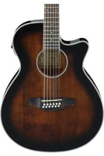 Ibanez AEG1812II 12-string - Dark Violin Sunburst