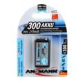 Ansmann 9V 300mah Rechargeable Battery