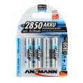 Ansmann 2850 mah AA Rechargeable Battery 4-pk