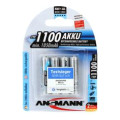 Ansmann 1100 mah AAA Rechargeable Battery 4-pk
