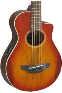 Yamaha APXT2EW Exotic Wood Series, Mango - Light Amber Burst