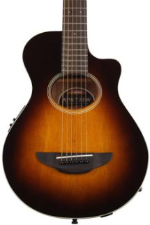 Yamaha APXT2EW Exotic Wood Series, Mango - Tobacco Brown Sunburst
