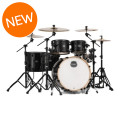 Mapex Armory 6-piece Studioease Fast Tom Shell Pack - Transparent BlackArmory 6-piece Studioease Fast Tom Shell Pack - Transparent Black