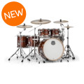 Mapex Armory 6-piece Studioease Fast Tom Shell Pack - Transparent WalnutArmory 6-piece Studioease Fast Tom Shell Pack - Transparent Walnut