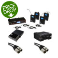 Galaxy Audio AS-1100 Complete Wireless In-ear Monitor System
