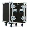 LM Cases 12U Deep Rack Case with Wheels12U Deep Rack Case with Wheels