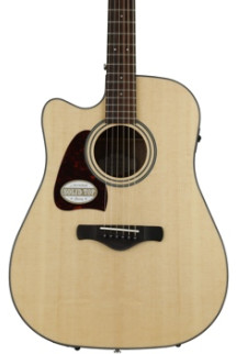 Ibanez AW400LCE Left-handed - Natural