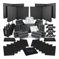 Sweetwater Complete Acoustic Room Treatment System - Charcoal FoamComplete Acoustic Room Treatment System - Charcoal Foam