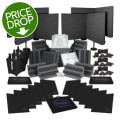 Sweetwater Complete Acoustic Room Treatment System - Charcoal Foam