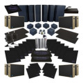 Sweetwater Complete Acoustic Room Treatment System - BlackComplete Acoustic Room Treatment System - Black