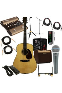Martin Acoustic Guitar Club Package