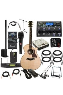 Taylor Acoustic Guitar Touring Package