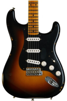 Fender Custom Shop Ancho Poblano Stratocaster - Two tone Sunburst with Maple Fingerboard