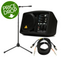 Behringer B205D Compact Monitor with Stand and CablesB205D Compact Monitor with Stand and Cables