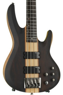 ESP LTD B-4E - Ebony Natural Satin