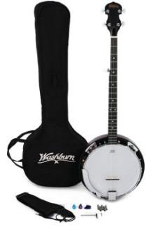 Washburn B8 Banjo Pack - Natural