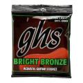 GHS BB20X Bright Bronze - 80/20 Bronze Extra Light Acoustic Guitar StringsBB20X Bright Bronze - 80/20 Bronze Extra Light Acoustic Guitar Strings
