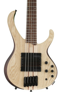 Ibanez BTB33NTF BTB Bass Workshop - Natural Flat