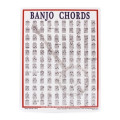 Walrus Productions Mini Laminated Chart, BanjoMini Laminated Chart, Banjo