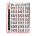 Walrus Productions Mini Laminated Chart, BassMini Laminated Chart, Bass