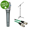 Shure Beta87A Handheld Microphone with Stand and Cable