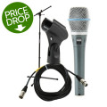 Shure Beta87C Handheld Microphone with Stand and CableBeta87C Handheld Microphone with Stand and Cable