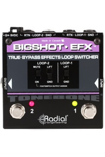 Radial BigShot EFX Effects Loop Switcher