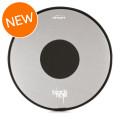 RTOM Black Hole Snap On Mesh Bass Drum Practice Pad - 20