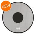 RTOM Black Hole Snap On Mesh Bass Drum Practice Pad - 22