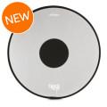 RTOM Black Hole Snap On Mesh Bass Drum Practice Pad - 24