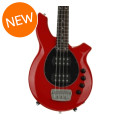 Ernie Ball Music Man Bongo 4 HH, Sweetwater Exclusive - Chili Red w/Black Pickguard