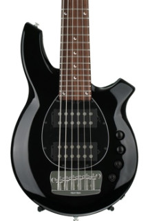Ernie Ball Music Man Bongo 6HH - Gloss Black