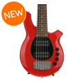 Ernie Ball Music Man Bongo 6 HH, Sweetwater Exclusive - Chili Red w/Black Pickguard