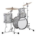 Ludwig Breakbeats By Questlove 4-piece Shell Pack with Snare Drum - White Sparkle
