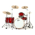 Gretsch Drums Brooklyn 5 Piece Rock Shell Pack with Snare Drum - Satin Tobasco