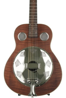 Fender Brown Derby Resonator - Brown Stain