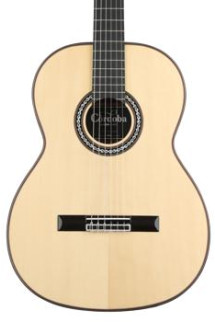 Cordoba C10 Crossover - European Spruce Top