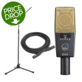 AKG C414 XLII Stand Cable Pack Large-Diaphragm Condenser Microphone