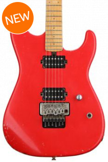 Friedman Cali Standard - Fire Engine Red, Maple Fingerboard