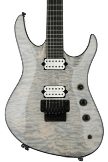 Jackson Chris Broderick Soloist - Transparent White