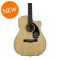 Fender CC-60SCE Concert-Sized Acoustic - NaturalCC-60SCE Concert-Sized Acoustic - Natural