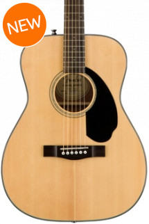 Fender CC-60S Concert-Sized Acoustic - Natural