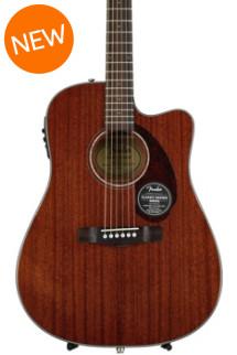 Fender CD-140SCE Dreadnought - Natural Mahogany