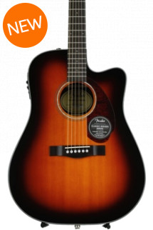Fender CD-140SCE Dreadnought - Sunburst