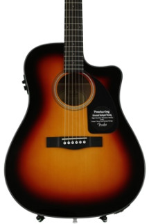Fender CD-60CE - Sunburst