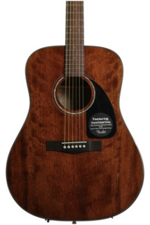 Fender CD-60 Dreadnought - All Mahogany