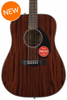 Fender CD-60S Dreadnought - Natural Mahogany